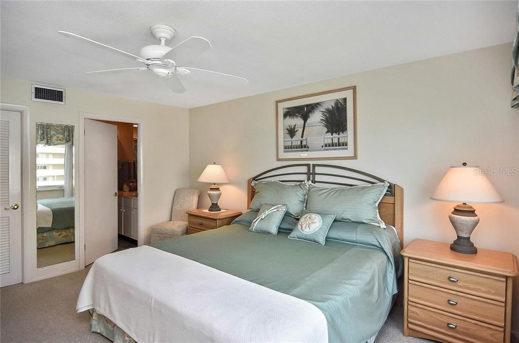 Master bedroom to master bath - Condo for sale at 500 The Esplanade N #402, Venice, FL 34285 - MLS Number is N6100557