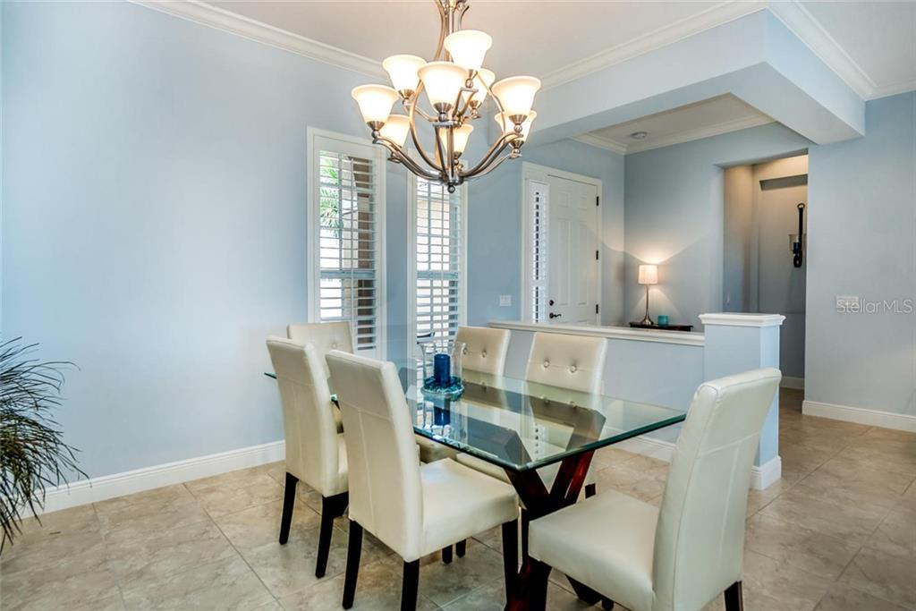 Formal Dining Room - Single Family Home for sale at 368 Marsh Creek Rd, Venice, FL 34292 - MLS Number is N6101204