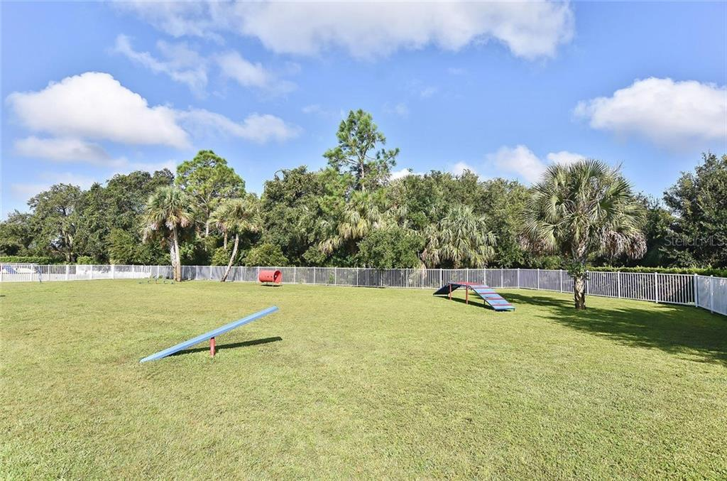 Community dog park - Single Family Home for sale at 21220 St Petersburg Dr, Venice, FL 34293 - MLS Number is N6101838