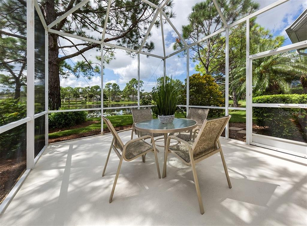 Lanai - Villa for sale at 865 Tartan Dr, Venice, FL 34293 - MLS Number is N6101901