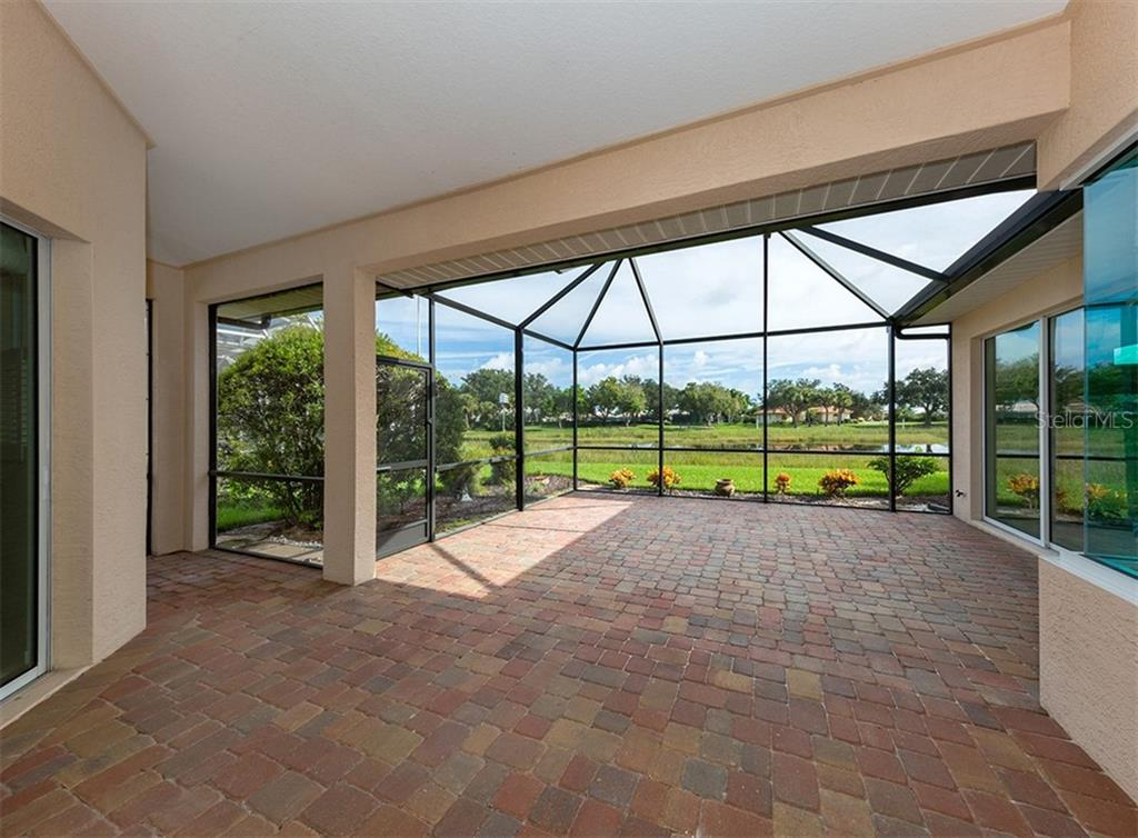 Extended lanai - Single Family Home for sale at 691 Lakescene Dr, Venice, FL 34293 - MLS Number is N6101920