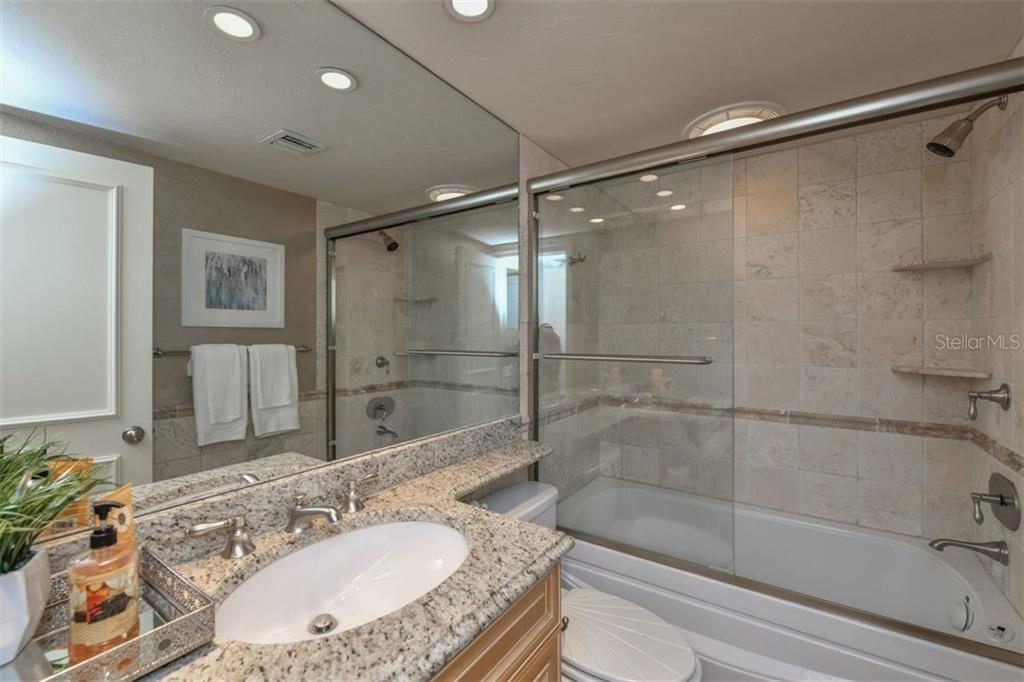 2ND BATHROOM WITH WHIRLPOOL TUB - Condo for sale at 5740 Midnight Pass Rd #505 F, Sarasota, FL 34242 - MLS Number is N6102195