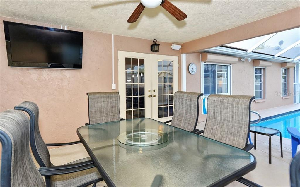 Lanai - Single Family Home for sale at 1460 Strada D Argento, Venice, FL 34292 - MLS Number is N6104612
