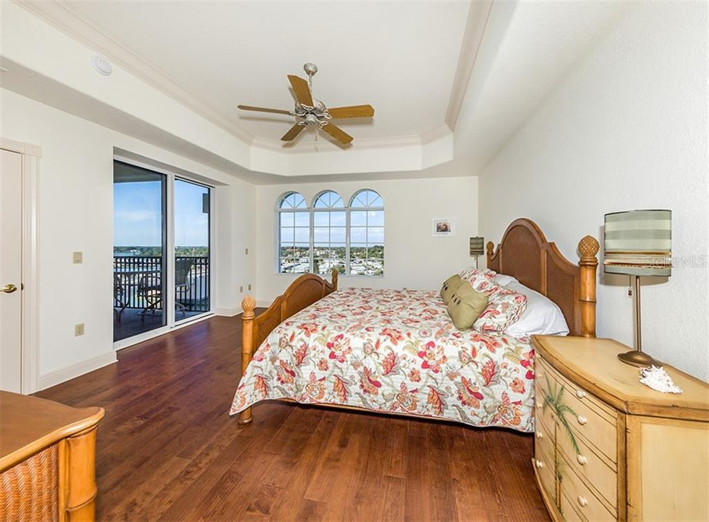 Master bedroom - Condo for sale at 147 Tampa Ave E #902, Venice, FL 34285 - MLS Number is N6104823