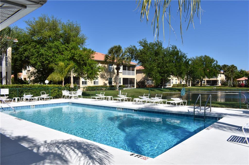 Community pool. - Condo for sale at 904 Casa Del Lago Way #904, Venice, FL 34292 - MLS Number is N6105434