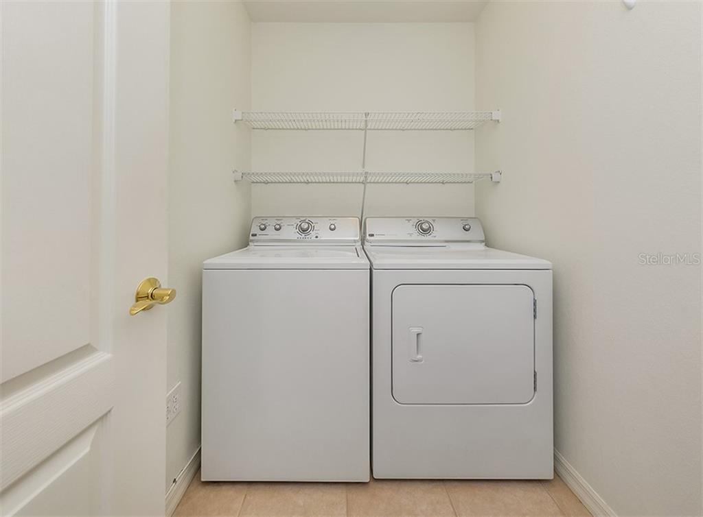 Laundry room - Condo for sale at 1761 Auburn Lakes Dr #22, Venice, FL 34292 - MLS Number is N6106204