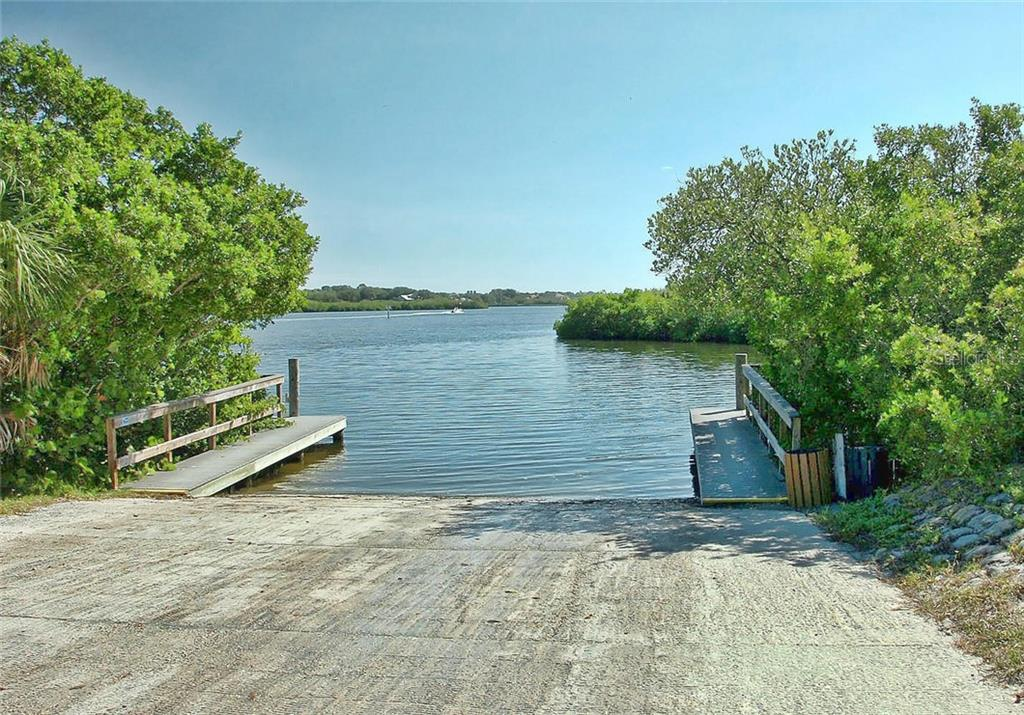 Public Boat Ramp - Single Family Home for sale at 1709 Hudson St, Englewood, FL 34223 - MLS Number is N6106345