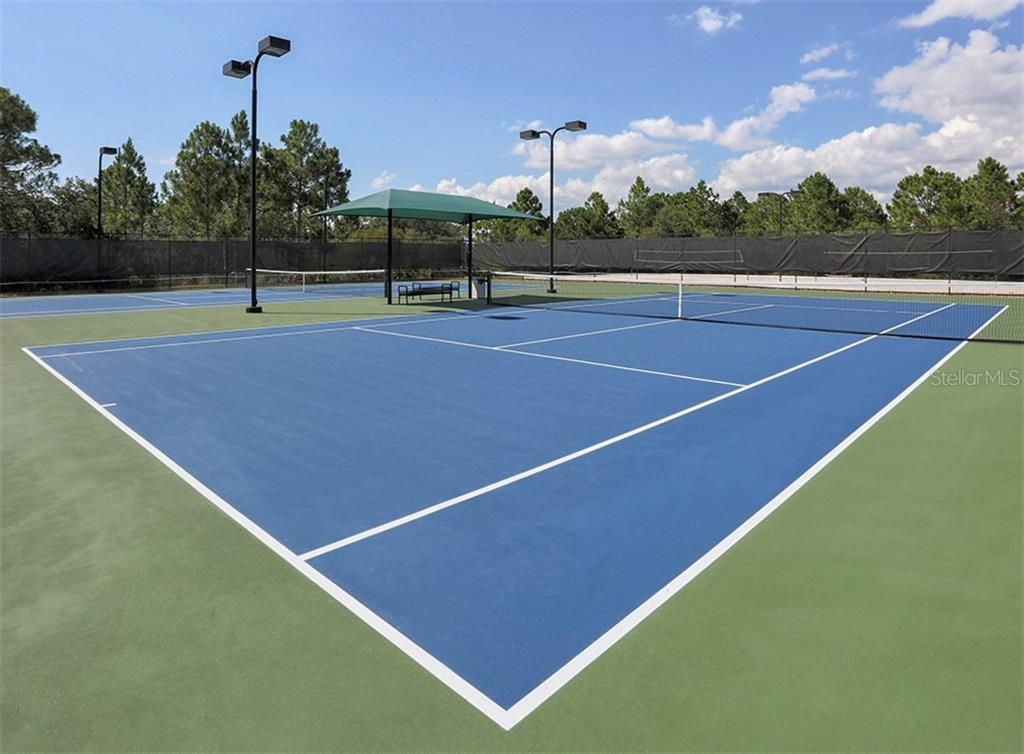 Tennis Courts - Single Family Home for sale at 11670 Tempest Harbor Loop, Venice, FL 34292 - MLS Number is N6106791
