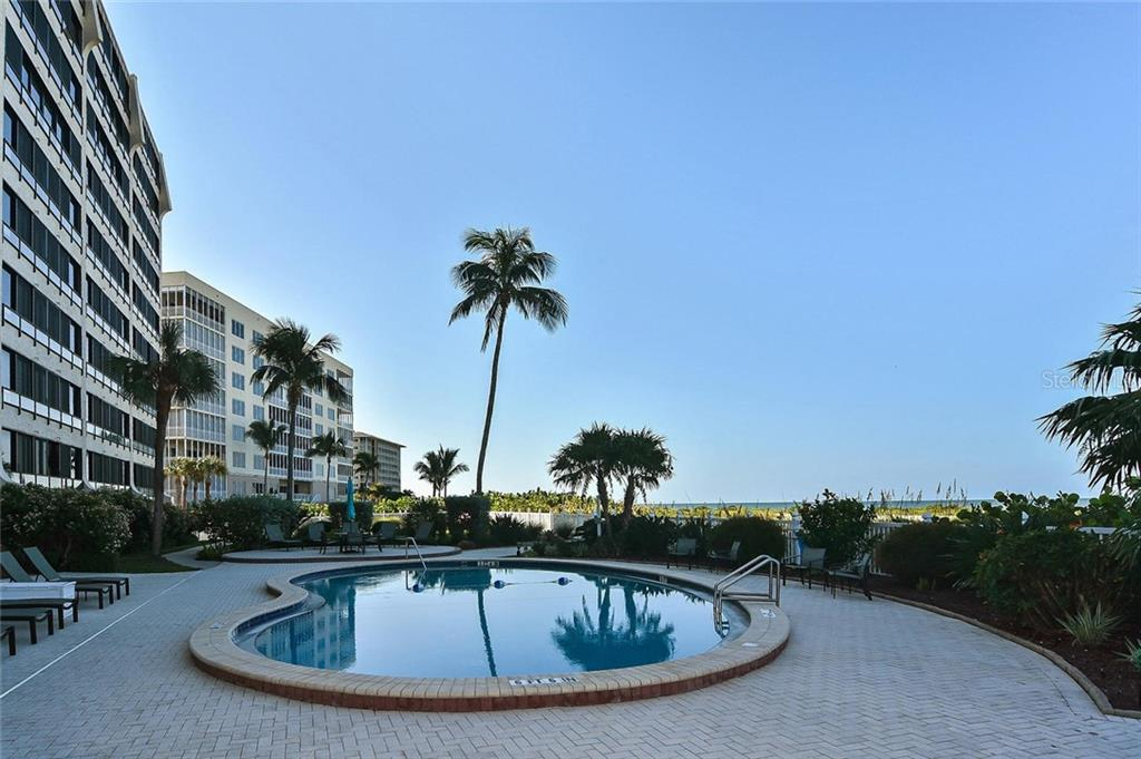 Pool - Condo for sale at 840 The Esplanade N #704, Venice, FL 34285 - MLS Number is N6107071