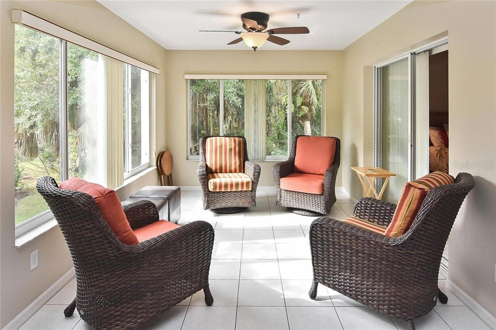Family room to great room - Condo for sale at 817 Montrose Dr #201, Venice, FL 34293 - MLS Number is N6107943