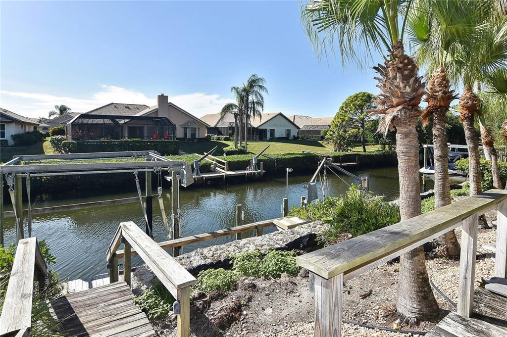 Dock - Single Family Home for sale at 321 Dulmer Dr, Nokomis, FL 34275 - MLS Number is N6108685