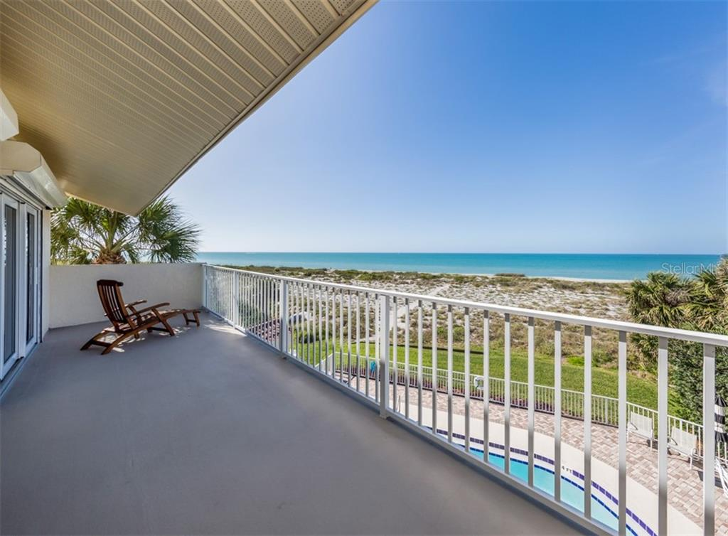 View from balcony - Condo for sale at 840 Golden Beach Blvd #840, Venice, FL 34285 - MLS Number is N6108717
