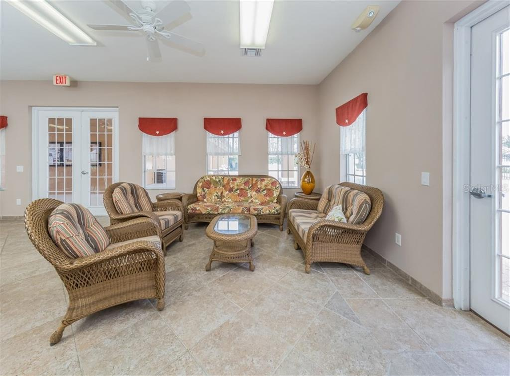 Community Center Interior - Single Family Home for sale at 5417 Layton Dr, Venice, FL 34293 - MLS Number is N6109503