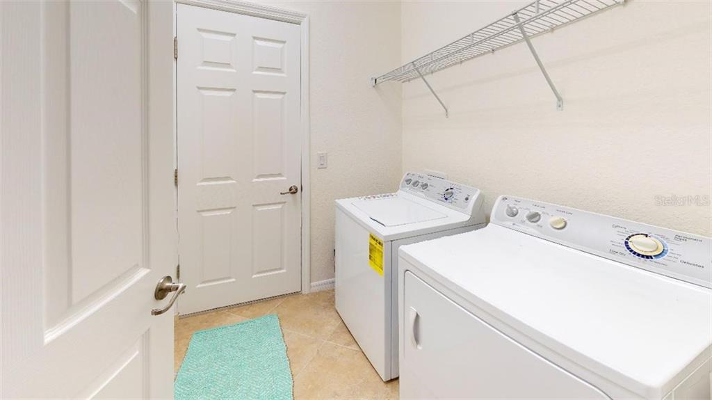 Laundry room - Villa for sale at 20385 Benissimo Dr, Venice, FL 34293 - MLS Number is N6109983