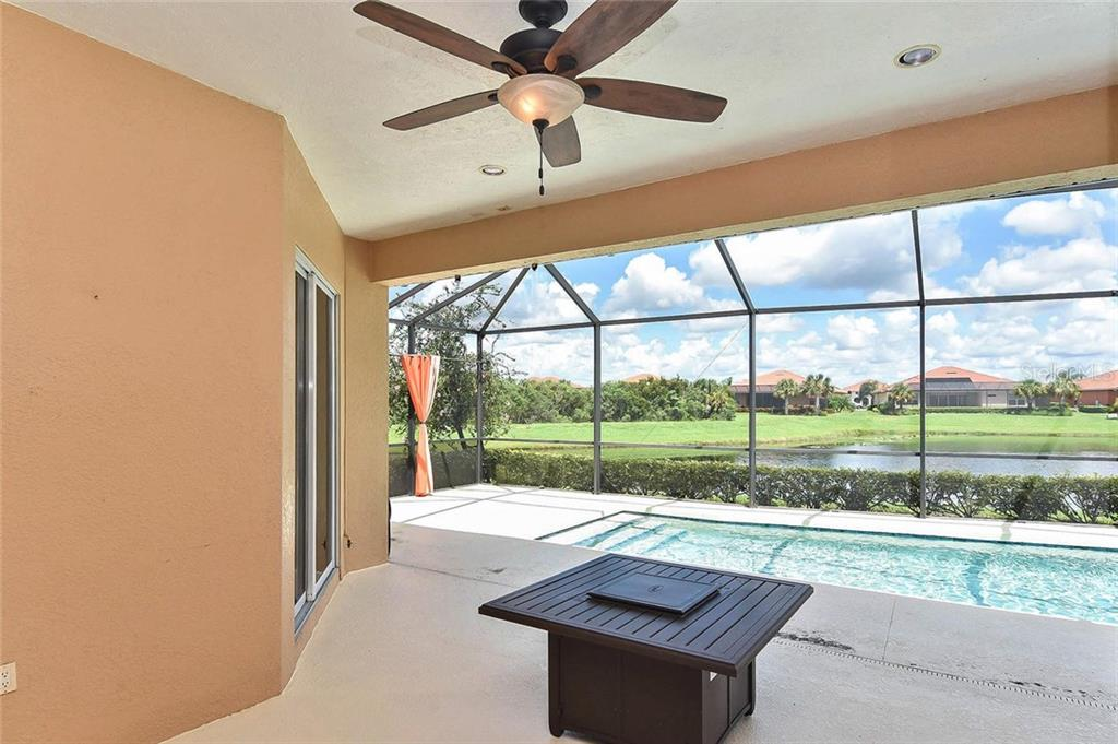 Lanai/pool - Single Family Home for sale at 193 Medici Ter, North Venice, FL 34275 - MLS Number is N6110365