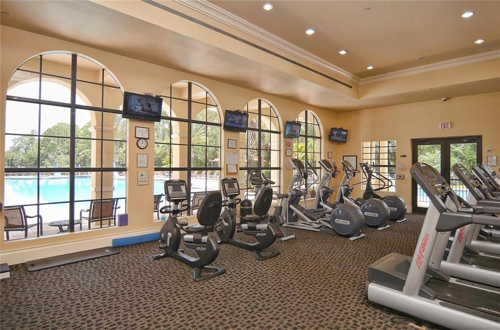 Fitness - Single Family Home for sale at 193 Medici Ter, North Venice, FL 34275 - MLS Number is N6110365