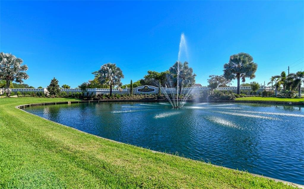 Pelican Pointe main entrance - Single Family Home for sale at 886 Macaw Cir, Venice, FL 34285 - MLS Number is N6111692