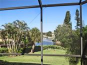 View from lanai - Villa for sale at 132 Inlets Blvd #132, Nokomis, FL 34275 - MLS Number is N5914693