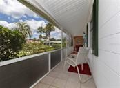 Very spacious screened front porch! - Condo for sale at 100 The Esplanade N #4, Venice, FL 34285 - MLS Number is N6100334