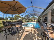 Pool area - Single Family Home for sale at 110 Martellago Dr, North Venice, FL 34275 - MLS Number is N6103159