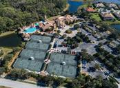 Aerial of clubhouse and community amenities - Single Family Home for sale at 110 Martellago Dr, North Venice, FL 34275 - MLS Number is N6103159