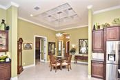 Dining area to foyer - Single Family Home for sale at 753 Guild Dr, Venice, FL 34285 - MLS Number is N6105757