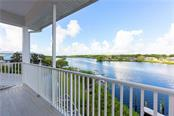 Master Bedroom Balcony - Single Family Home for sale at 714 Shakett Creek Dr, Nokomis, FL 34275 - MLS Number is N6107563