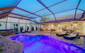 Saltwater pool with pebble tech finish - Single Family Home for sale at 925 Bayshore Rd, Nokomis, FL 34275 - MLS Number is N6108586