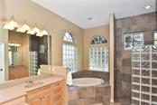 Master bath - Single Family Home for sale at 321 Dulmer Dr, Nokomis, FL 34275 - MLS Number is N6108685