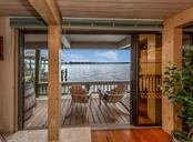 View from guest house living room - Single Family Home for sale at 2208 Casey Key Rd, Nokomis, FL 34275 - MLS Number is N6110959