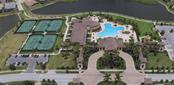 Aerial of Gran Paradiso amenities - Villa for sale at 20117 Tesoro Dr, Venice, FL 34293 - MLS Number is N6111641