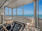 Enclosed lanai provides added living space and maximizes its beachside location. - Condo for sale at 1000 Tarpon Center Dr #502, Venice, FL 34285 - MLS Number is N6112167
