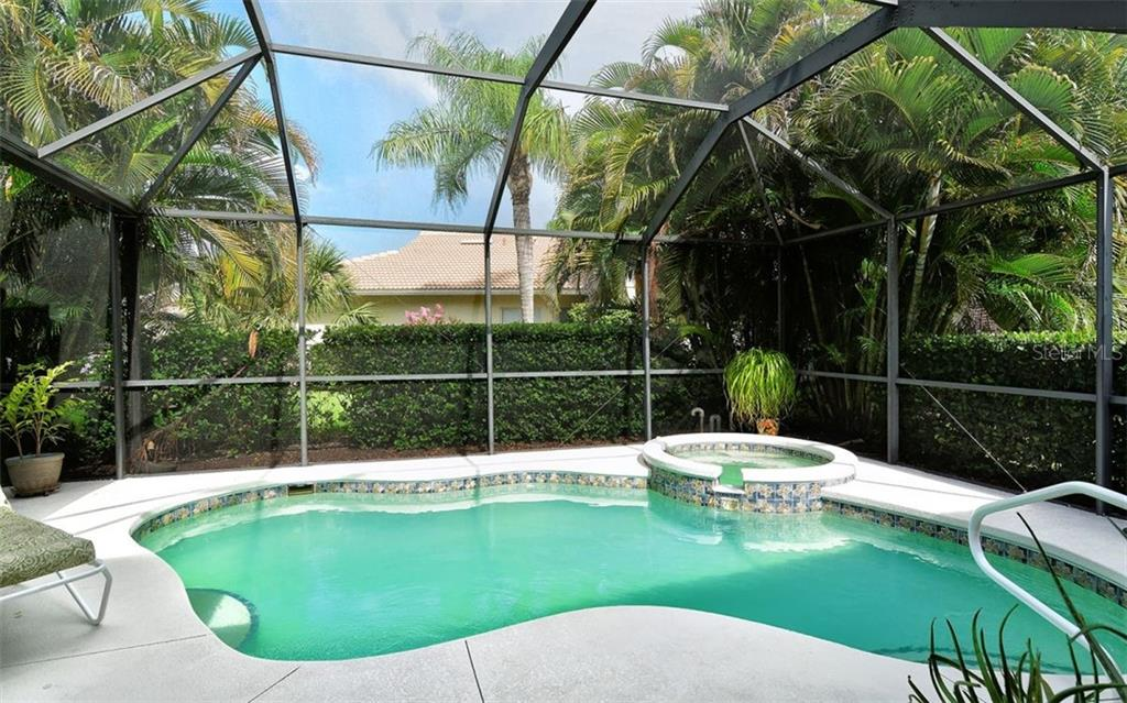 Beautiful private pool area for your enjoyment - Single Family Home for sale at 1141 Arbroid Dr, Englewood, FL 34223 - MLS Number is D6101353