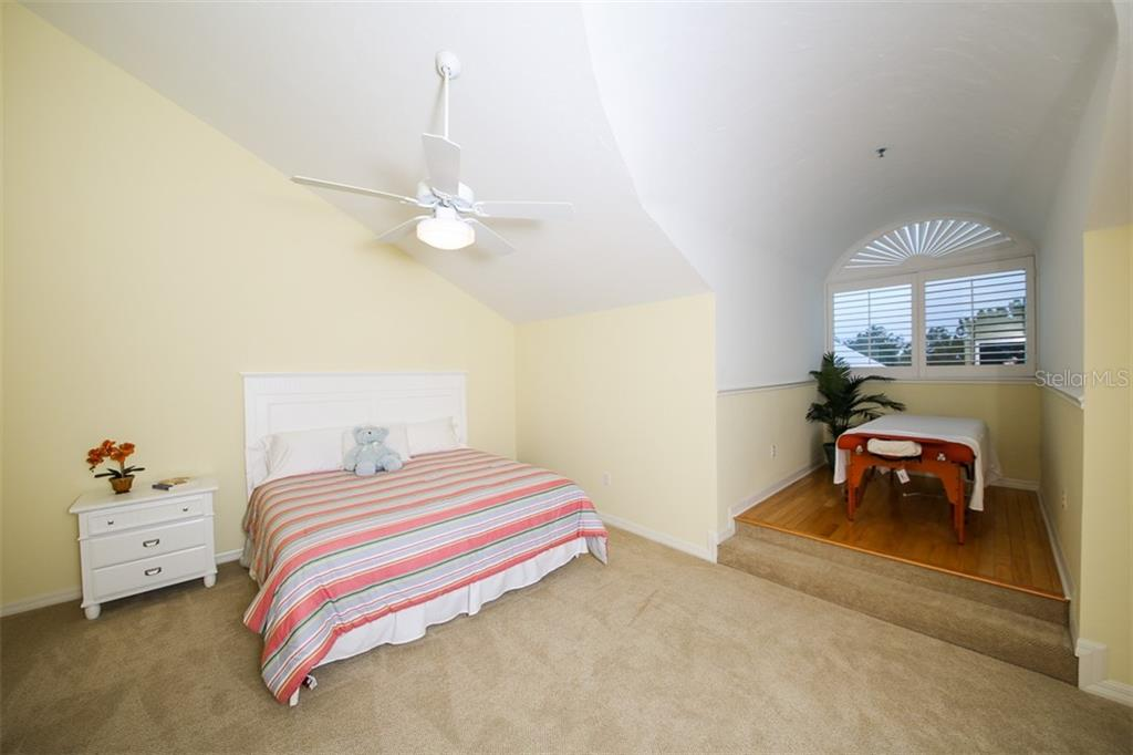 Bedroom #3- located upstairs with its own alcove - Condo for sale at 11000 Placida Rd #2103, Placida, FL 33946 - MLS Number is D6102674