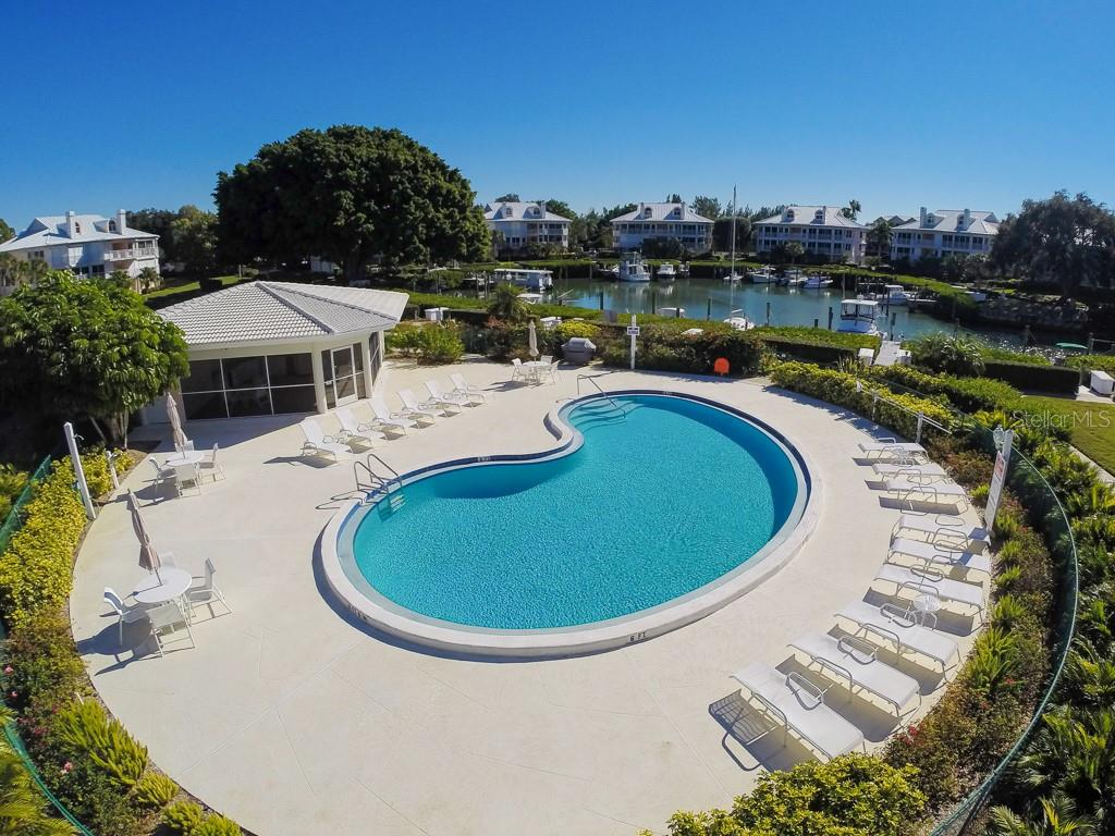2nd Pool overlooking Marina - Condo for sale at 11000 Placida Rd #2103, Placida, FL 33946 - MLS Number is D6102674