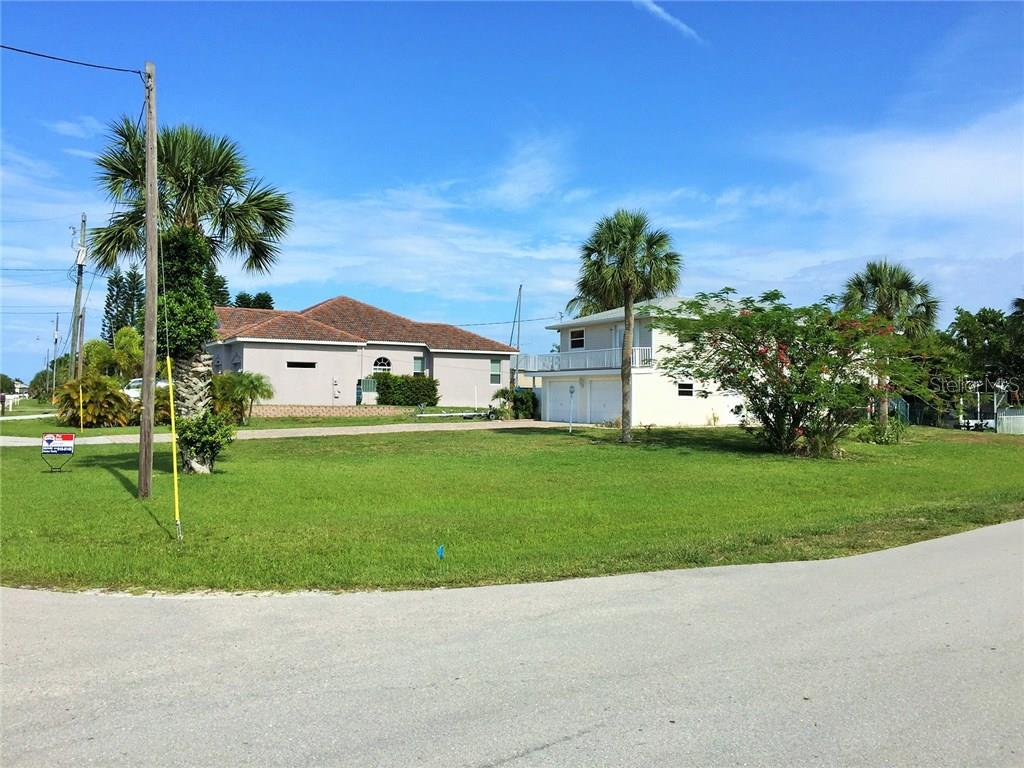 Subject Lot is Situated just West of Buccaneer & Yacht Club - Vacant Land for sale at 24402 Grand Canal Rd, Punta Gorda, FL 33955 - MLS Number is C7225343