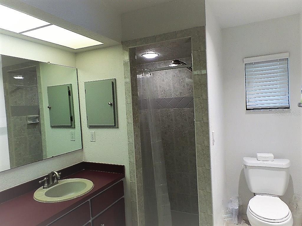 MASTER BATH WALK IN TILED SHOWER. - Single Family Home for sale at 28435 Sabal Palm Dr, Punta Gorda, FL 33982 - MLS Number is C7240870