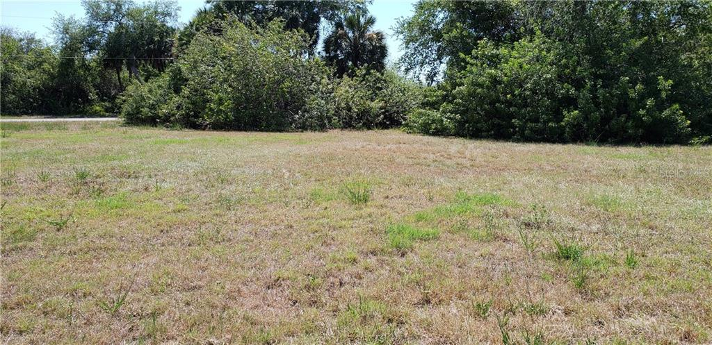 From back of lot facing west - Vacant Land for sale at 225 Spring Dr, Rotonda West, FL 33947 - MLS Number is C7407298