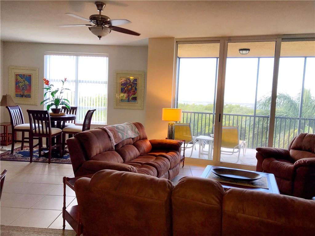 Bright and open living space, great views - Condo for sale at 3333 Sunset Key Cir #202, Punta Gorda, FL 33955 - MLS Number is C7410701
