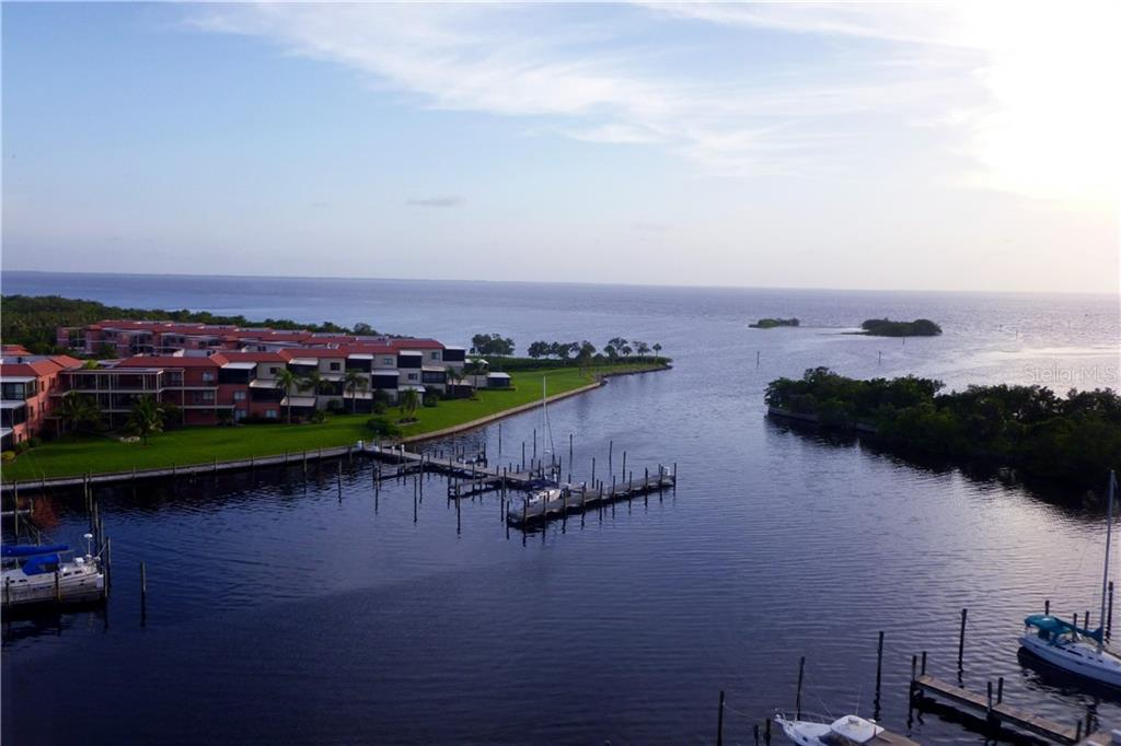Master bedroom with gorgeous views - Condo for sale at 3280 Southshore Dr #86c, Punta Gorda, FL 33955 - MLS Number is C7413505