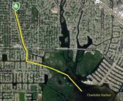 Easy access to Charlotte Harbor - Vacant Land for sale at 3101 Rock Creek Dr, Port Charlotte, FL 33948 - MLS Number is C7416456