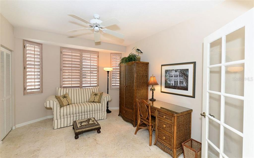 Bedroom 2 of 3 - Condo for sale at 1260 Dolphin Bay Way #401, Sarasota, FL 34242 - MLS Number is A4173008