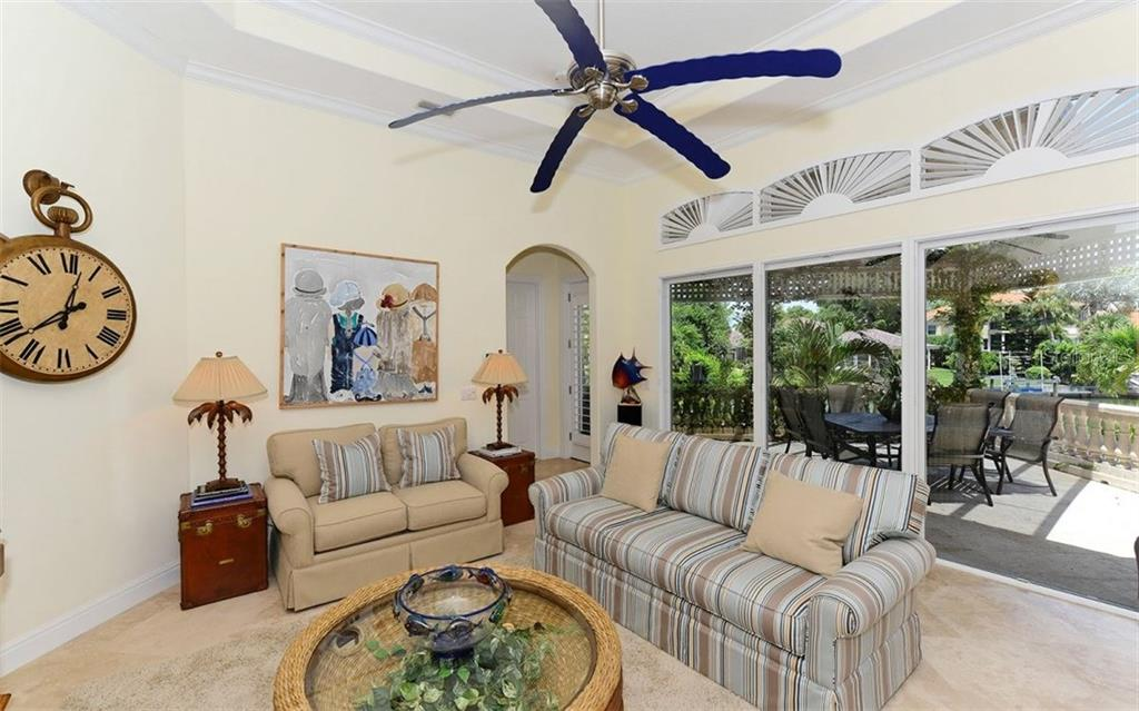 Spa level lanai - Single Family Home for sale at 624 Mourning Dove Dr, Sarasota, FL 34236 - MLS Number is A4174849