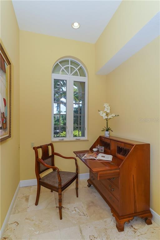 Office nook off the kitchen - Single Family Home for sale at 1179 Morningside Pl, Sarasota, FL 34236 - MLS Number is A4209174