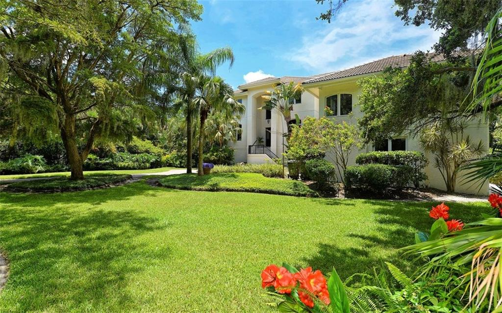 Lush & tropical grounds. - Single Family Home for sale at 2145 Alameda Ave, Sarasota, FL 34234 - MLS Number is A4414337