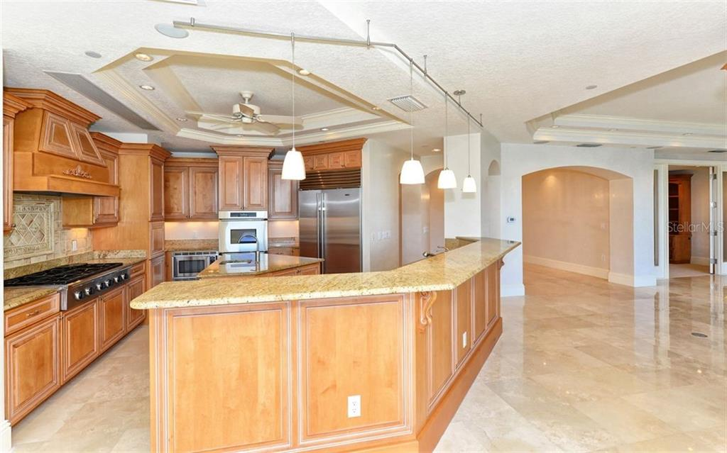 Open Kitchen area. - Condo for sale at 464 Golden Gate Pt #701, Sarasota, FL 34236 - MLS Number is A4422622