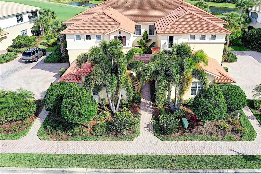 Overhead view. - Condo for sale at 9453 Discovery Ter #201c, Bradenton, FL 34212 - MLS Number is A4423314