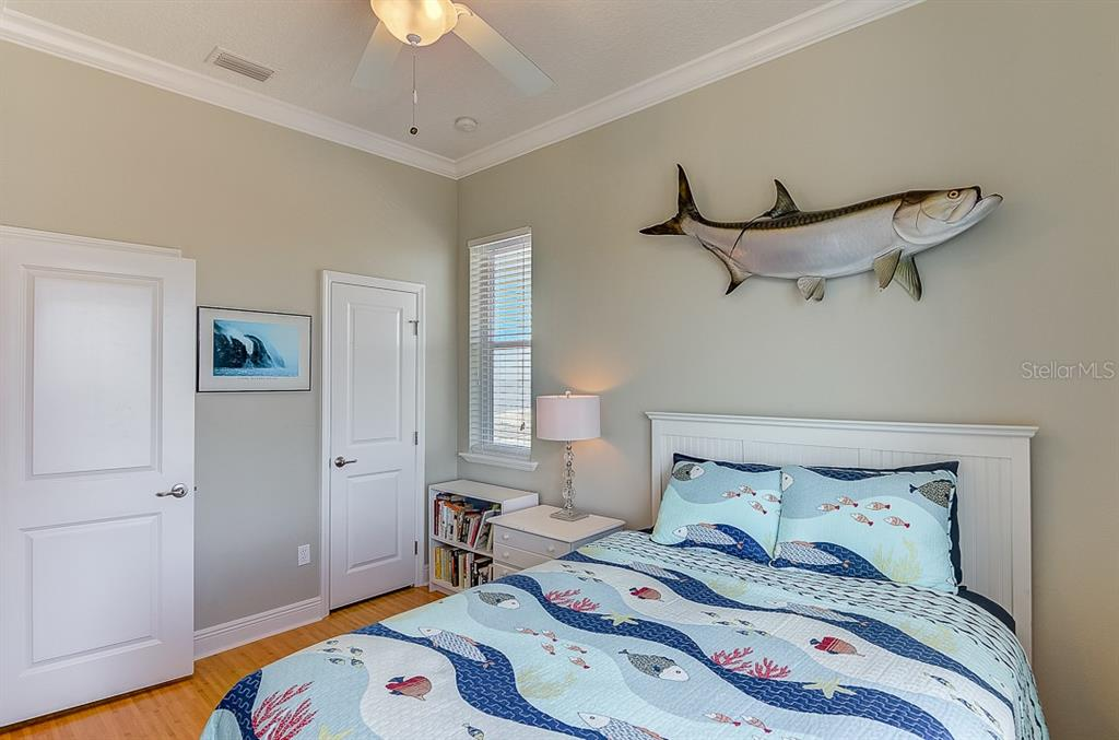 East Guest Bedroom 2 ~ 2nd Floor - Duplex/Triplex for sale at 2500 Gulf Dr N, Bradenton Beach, FL 34217 - MLS Number is A4424506
