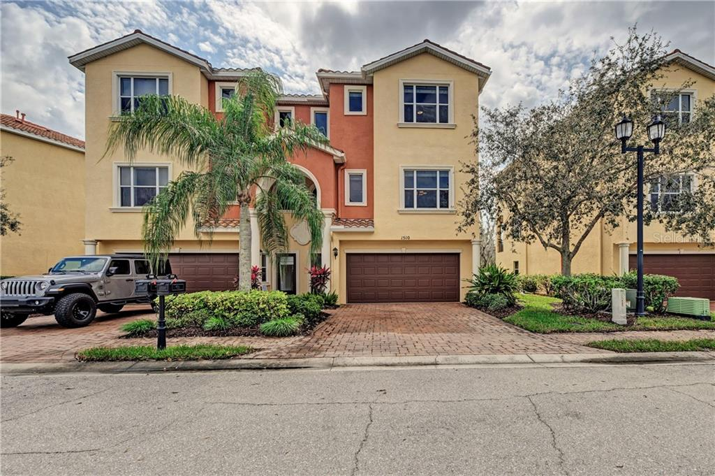 Townhouse for sale at 1510 3rd Street Cir E, Palmetto, FL 34221 - MLS Number is A4427676