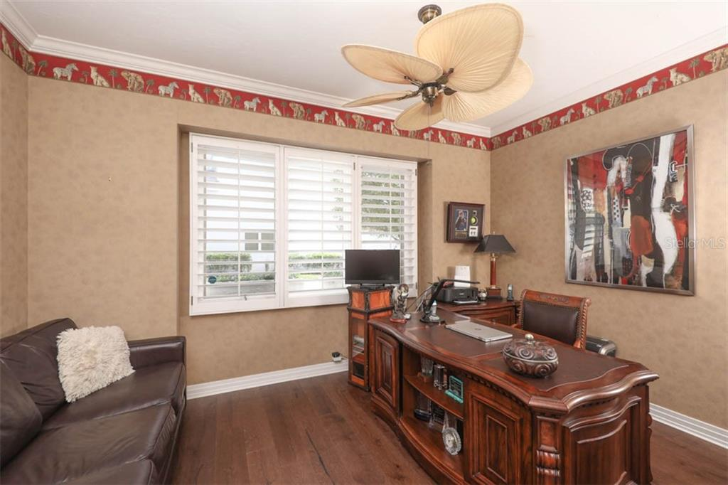 Study/Den may be used as 4th bedroom; room has closet and half bath - Single Family Home for sale at 7728 Club Ln, Sarasota, FL 34238 - MLS Number is A4428061